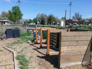 Compost BinsHalfway